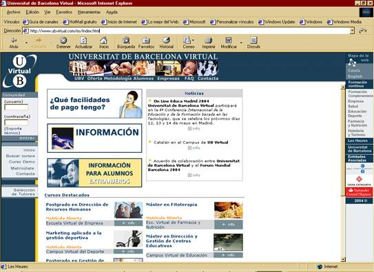 ubvirtual com: